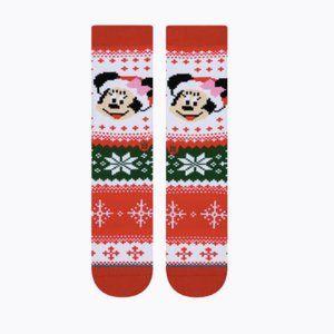 Stance MINNIE Mouse CLAUS Disney Socks Sz L Adults